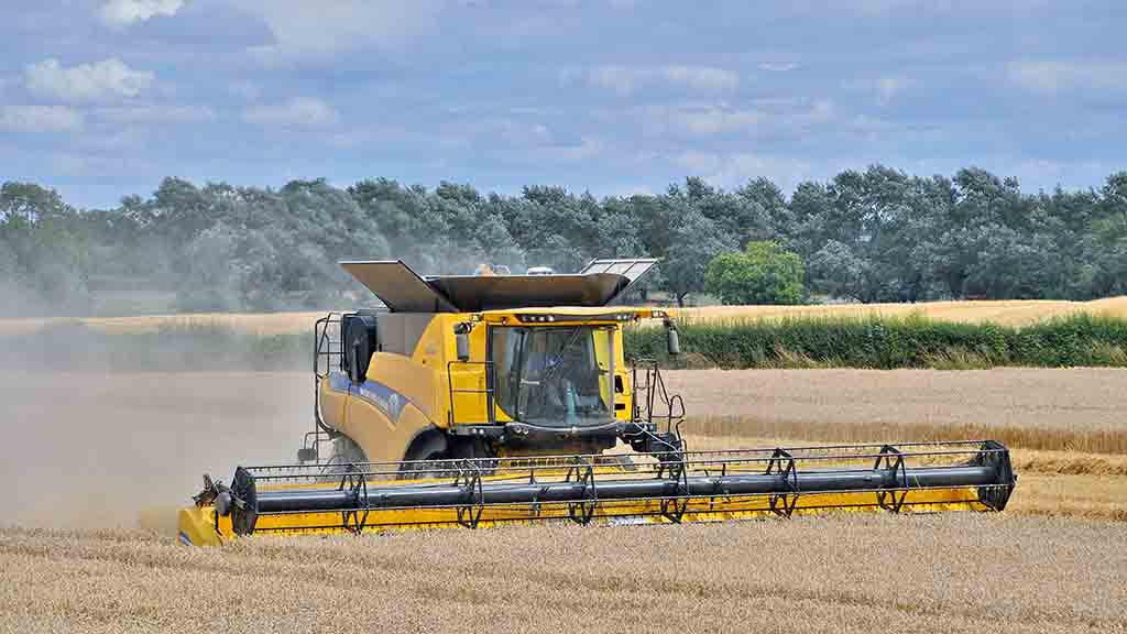 Hallmark Tractors' new premises will allow the company to focus more on combines.