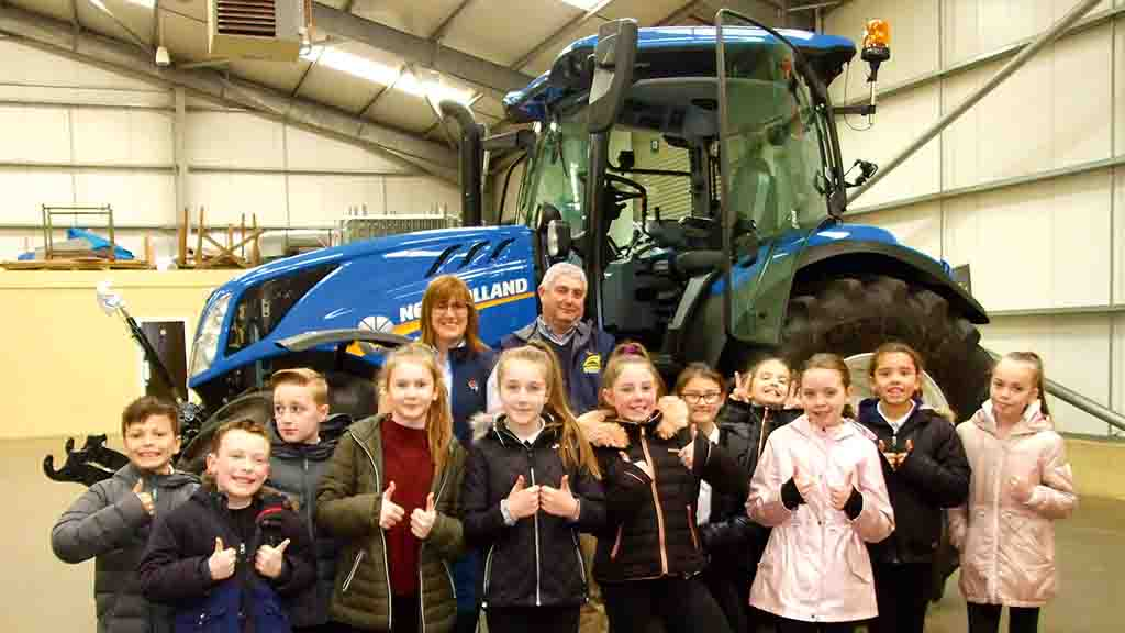 Backbone of Britain: 'Some of these kids are from the city and have never seen a cow before'
