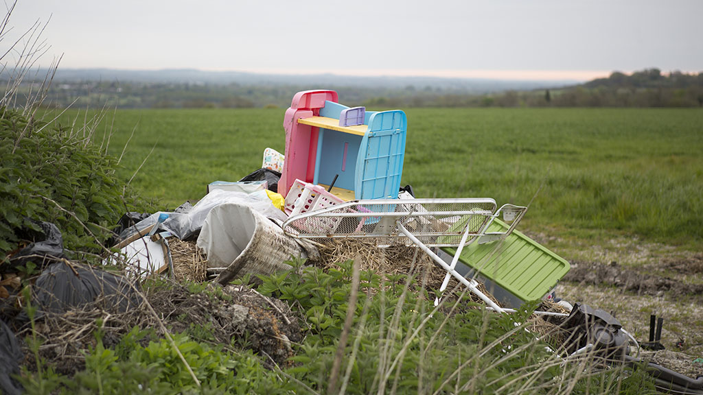 Farmers urged to report fly-tipping incidents as 'true cost' of issue not reported