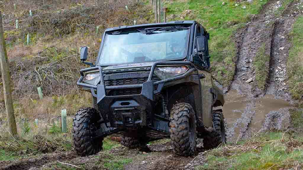 New Polaris Diesel Ranger put to the test in the Lake District