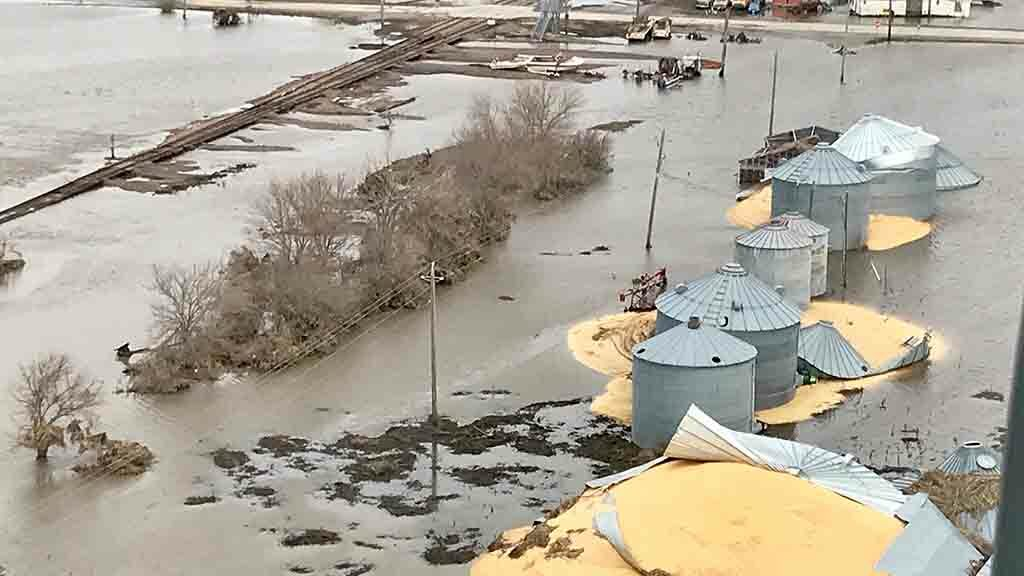 Global ag view: Farms devastated by floods in US Midwest since mid-March