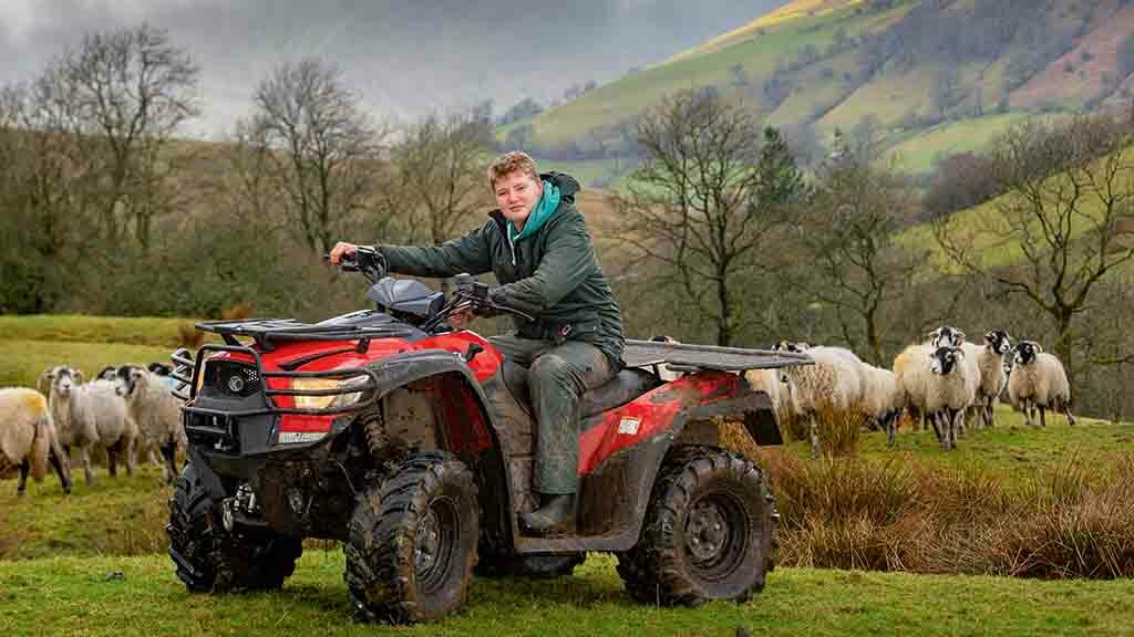 Backbone of Britain: Swaley Man focuses on his farming life