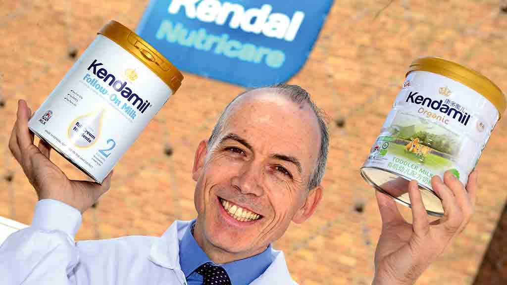 Baby milk company passionate about promoting British dairy's benefits