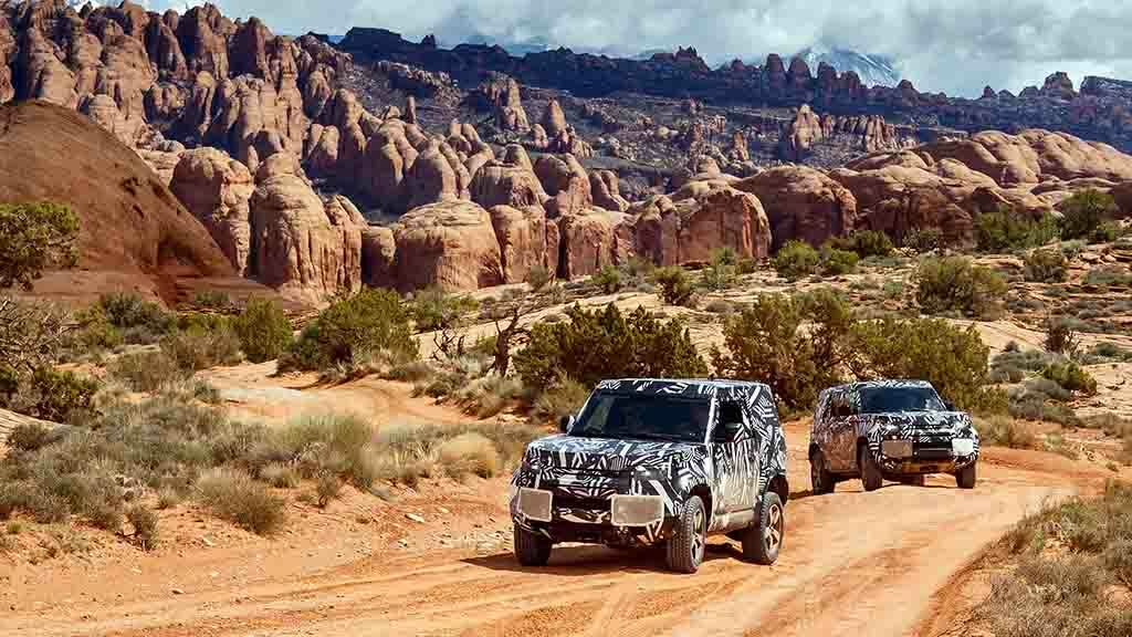 New Land Rover Defender tested in the Arctic, Dubai and Herefordshire