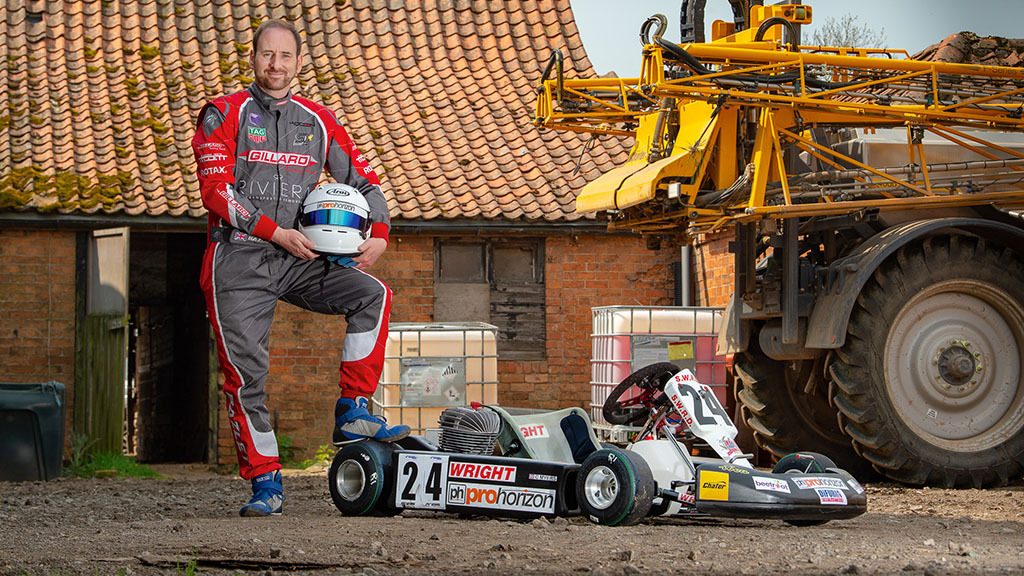 Backbone of Britain: Farming photographer relives childhood karting passion