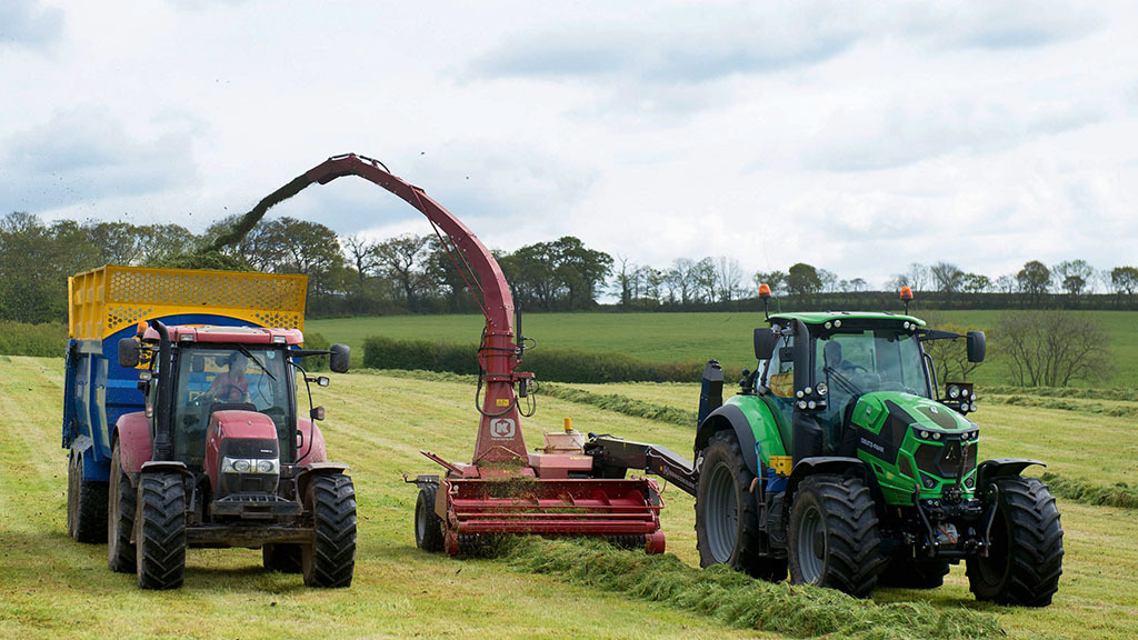 How a trailed forage harvester is proving to be a small-scale saviour
