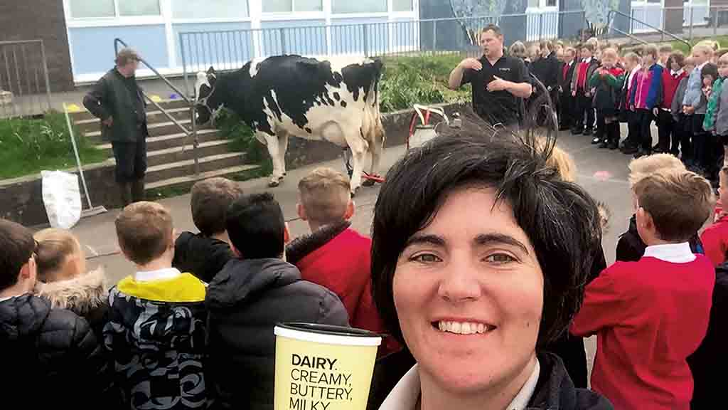 Dairy farmer and FG columnist Abi Reader made MBE in Queen's birthday honours