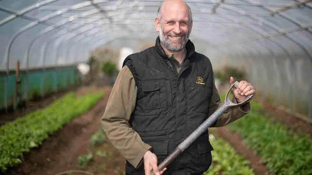 Backbone of Britain: Farmer opens his doors to the homeless