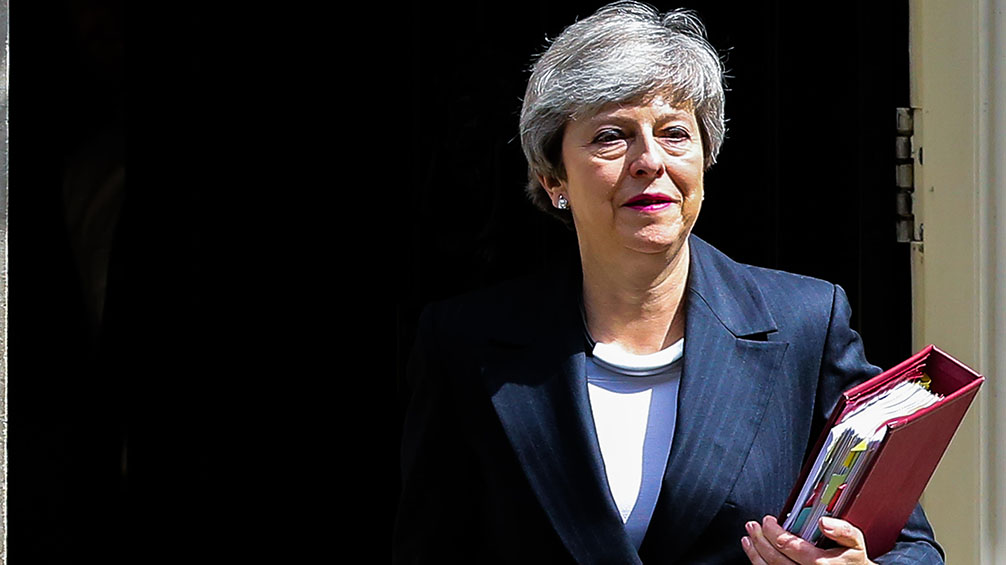 Reaction from the farming industry: Theresa May announces departure date