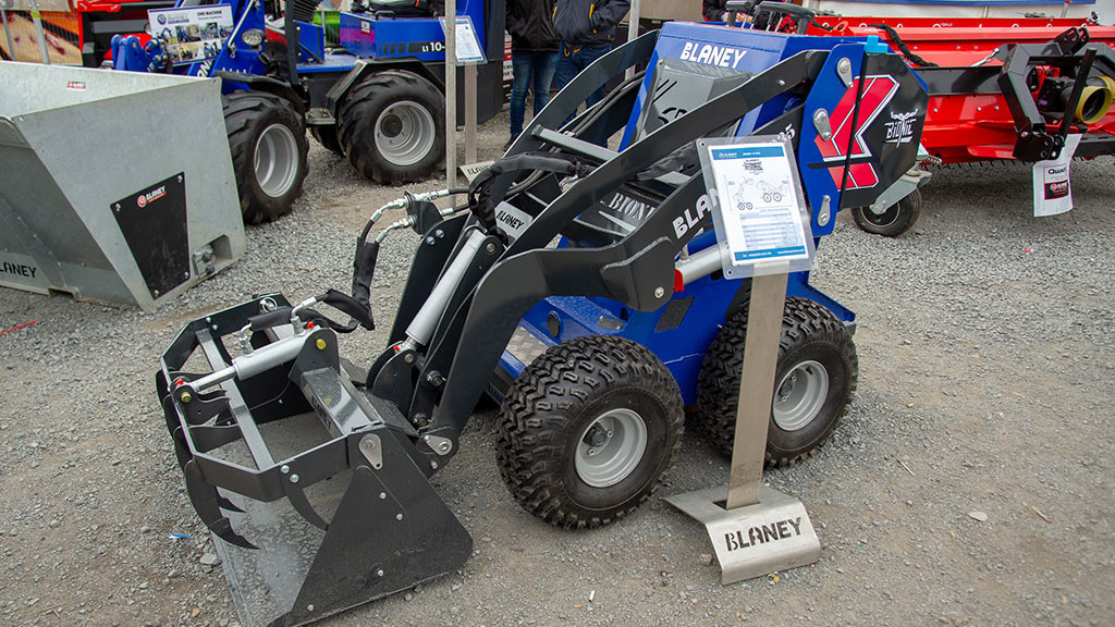Blaney Bionic loader 'capable of a multitude of tasks around the farm'