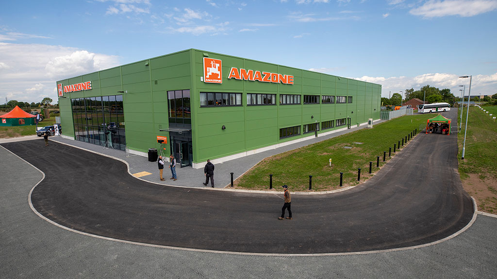 Amazone UK's new headquarters at Auckley, Doncaster.