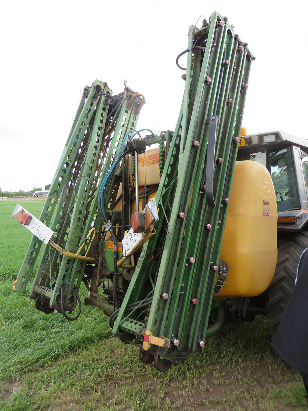 Fifty years of sprayers