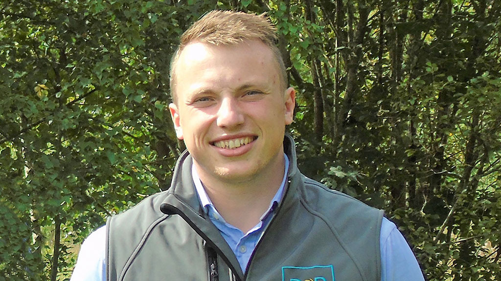Young Farmer Focus: David Paterson - 'Lambs proved a harder pull than tug of war'