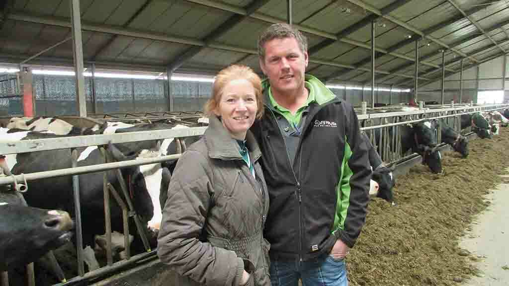 Arnold and Carola Van Dorp have invested in robotic milking