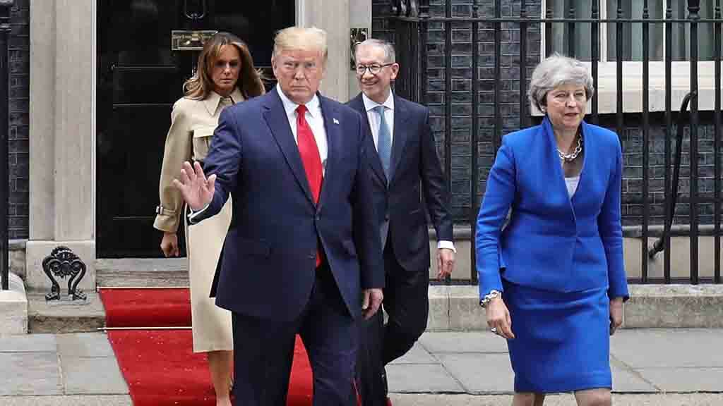 Farm leaders warn of US trade 'betrayal' as Donald Trump arrives in the UK