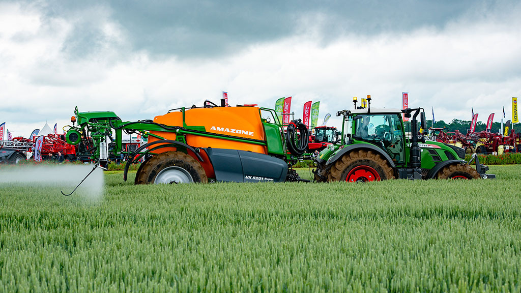 Amazone sprayer updates