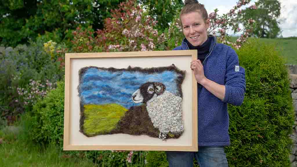 Backbone of Britain: Preserving the ancient art of wool felting
