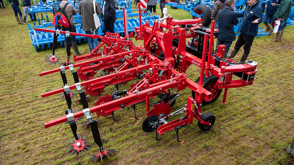 Steketee inter-row cultivators