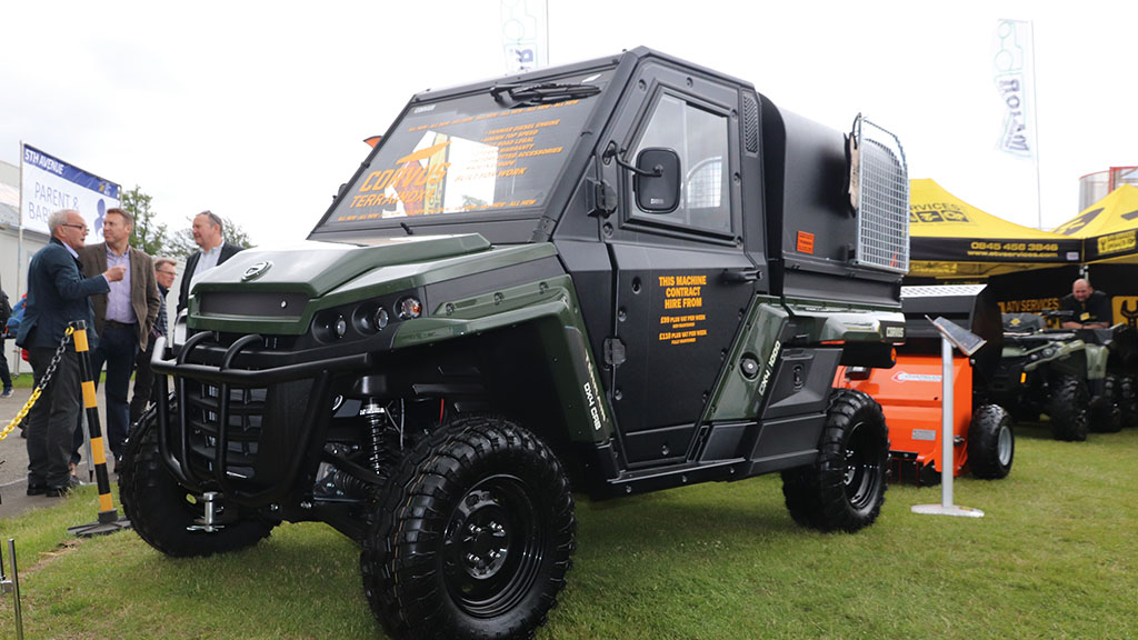 New UTV manufacturer on show