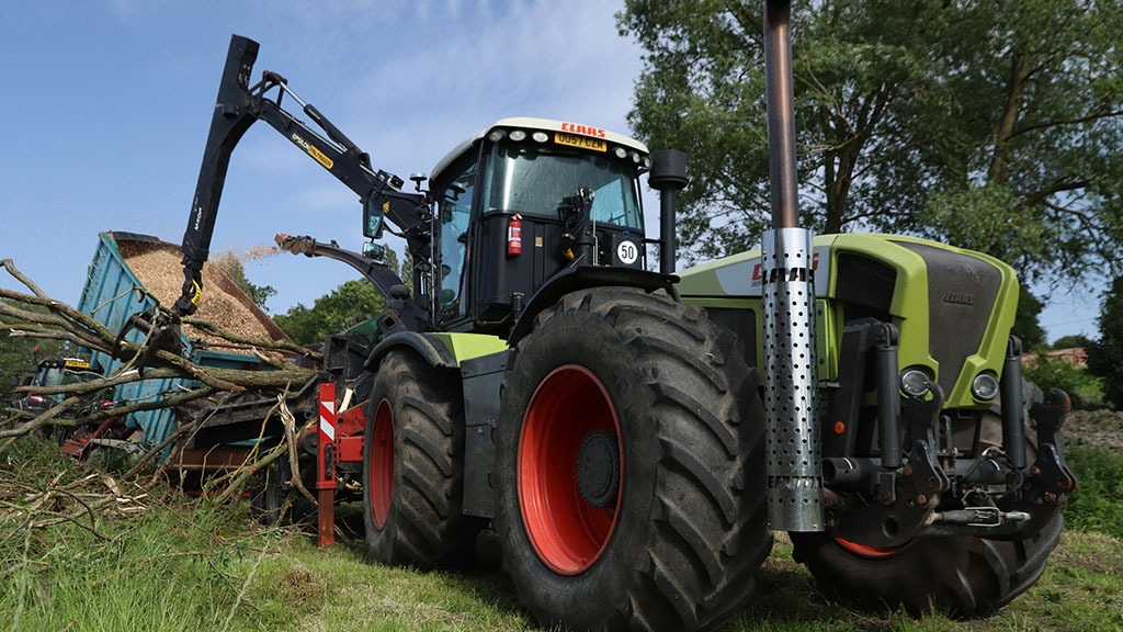 Classic Claas Xerion providing the ideal diversification tractor