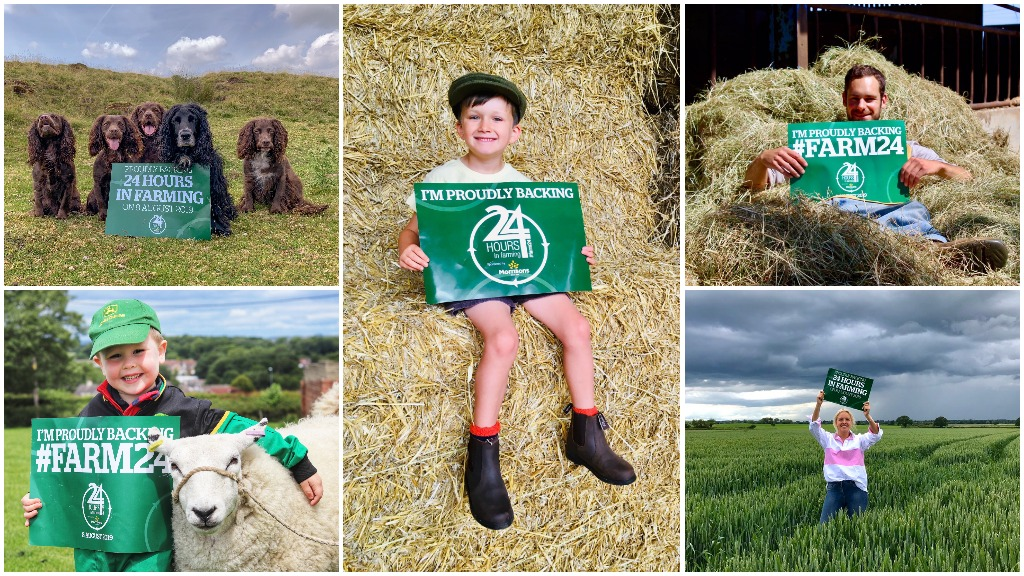 British farmers unite for #Farm24: How you can get involved this year