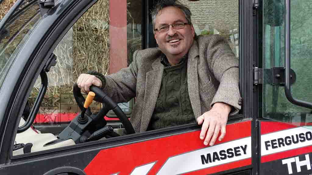 'Lots of steel where you need it' - Massey Ferguson-branded telehandler impresses