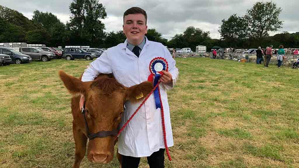 Young Farmer Focus: Dafydd James - 'I have been promoted from gofer to showman'