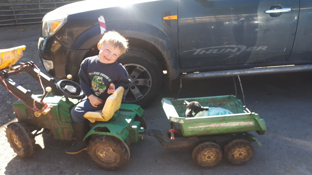 Emotional family tributes paid to four-year-old killed in telehandler incident