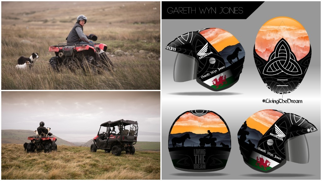 Farm Safety Week: Design your own ATV helmet with Honda and Farmers Guardian