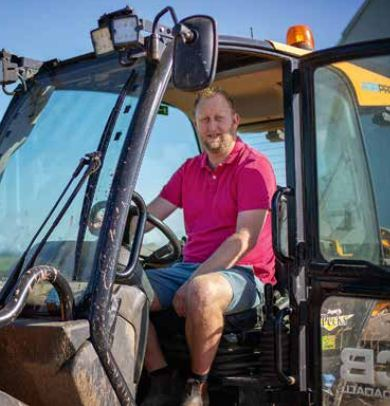 James Fountain has switched from a conventional OSR to a hybrid, in a bid to tackle CSFB damage.
