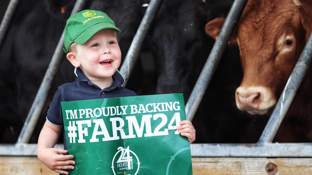GET INVOLVED: Farmers across the country pledge their support for #Farm24