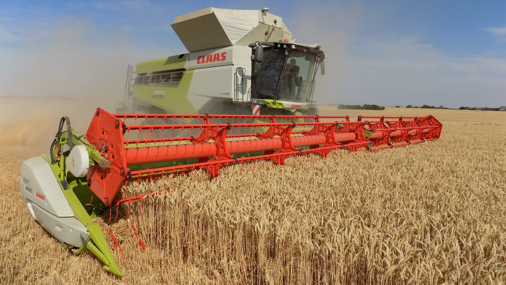 Image result for combine harvester