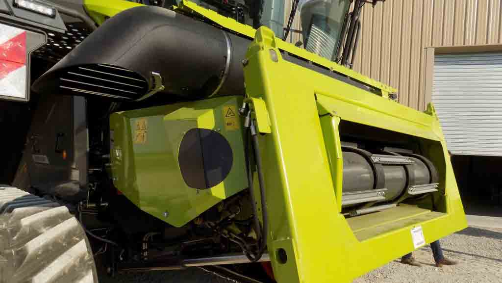 VIDEO: Claas launches largest Lexion combine harvester ever