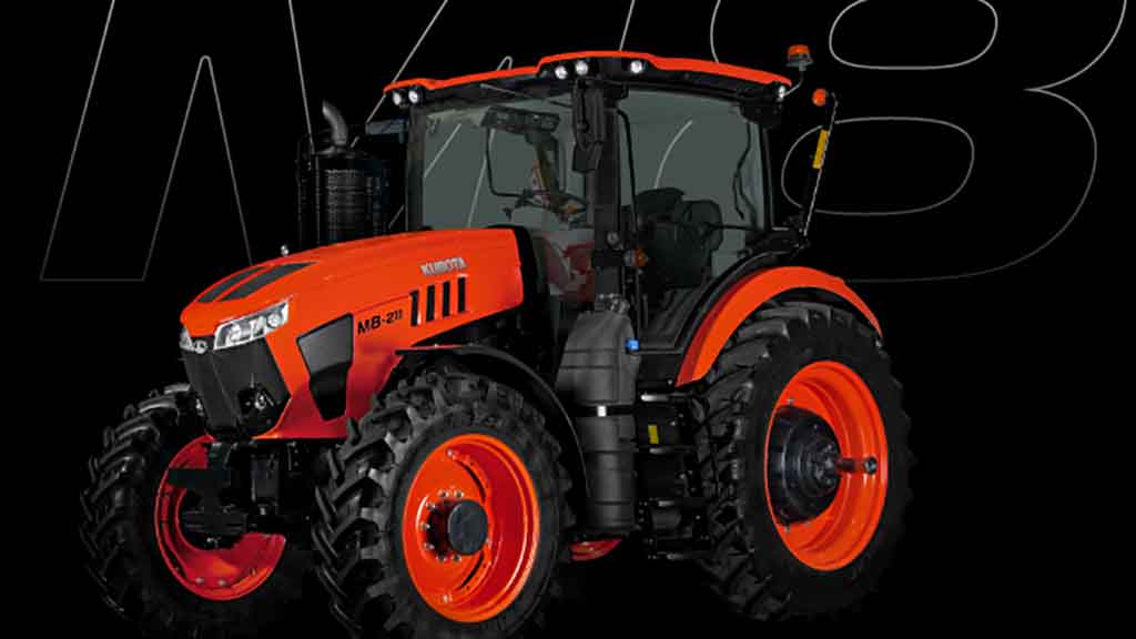Kubota M8 breaks cover in North America