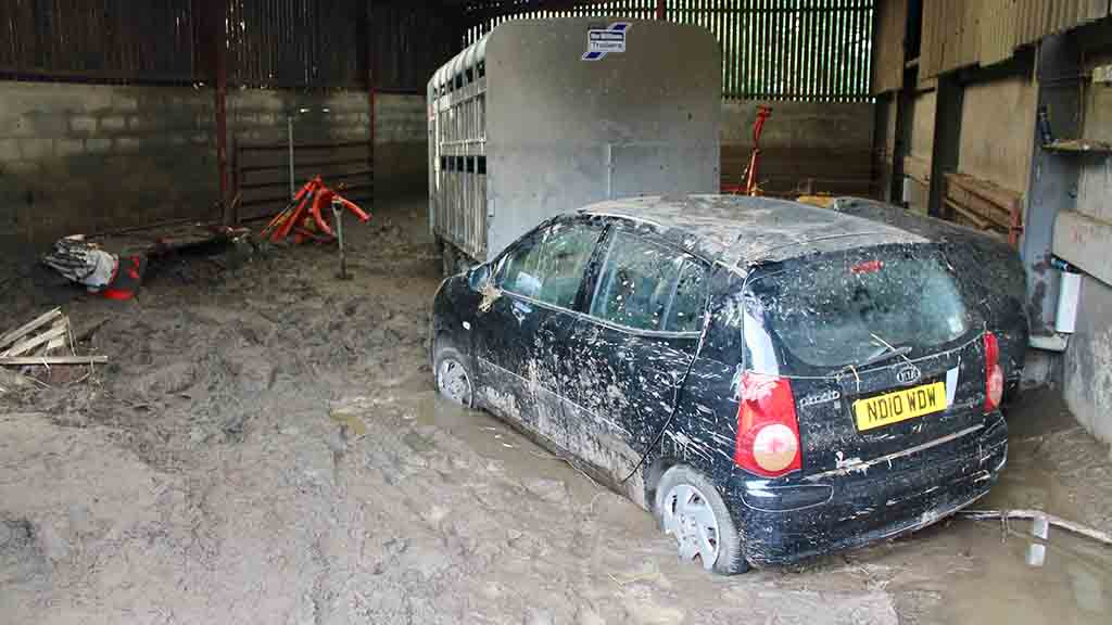 Cash available for British farmers and rural communities hit by floods