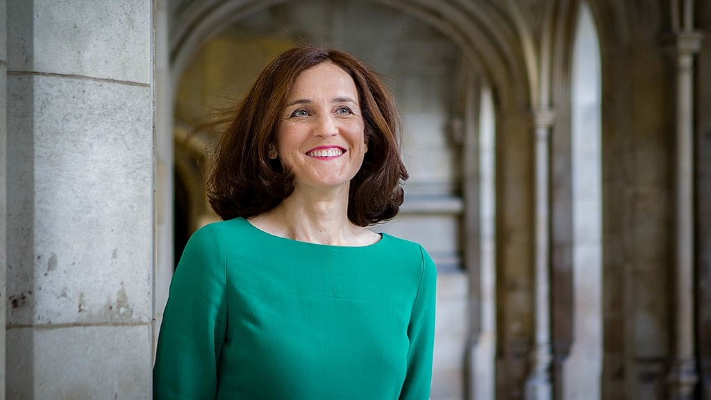 UK agriculture can thrive despite no-deal, Theresa Villiers tells farmers