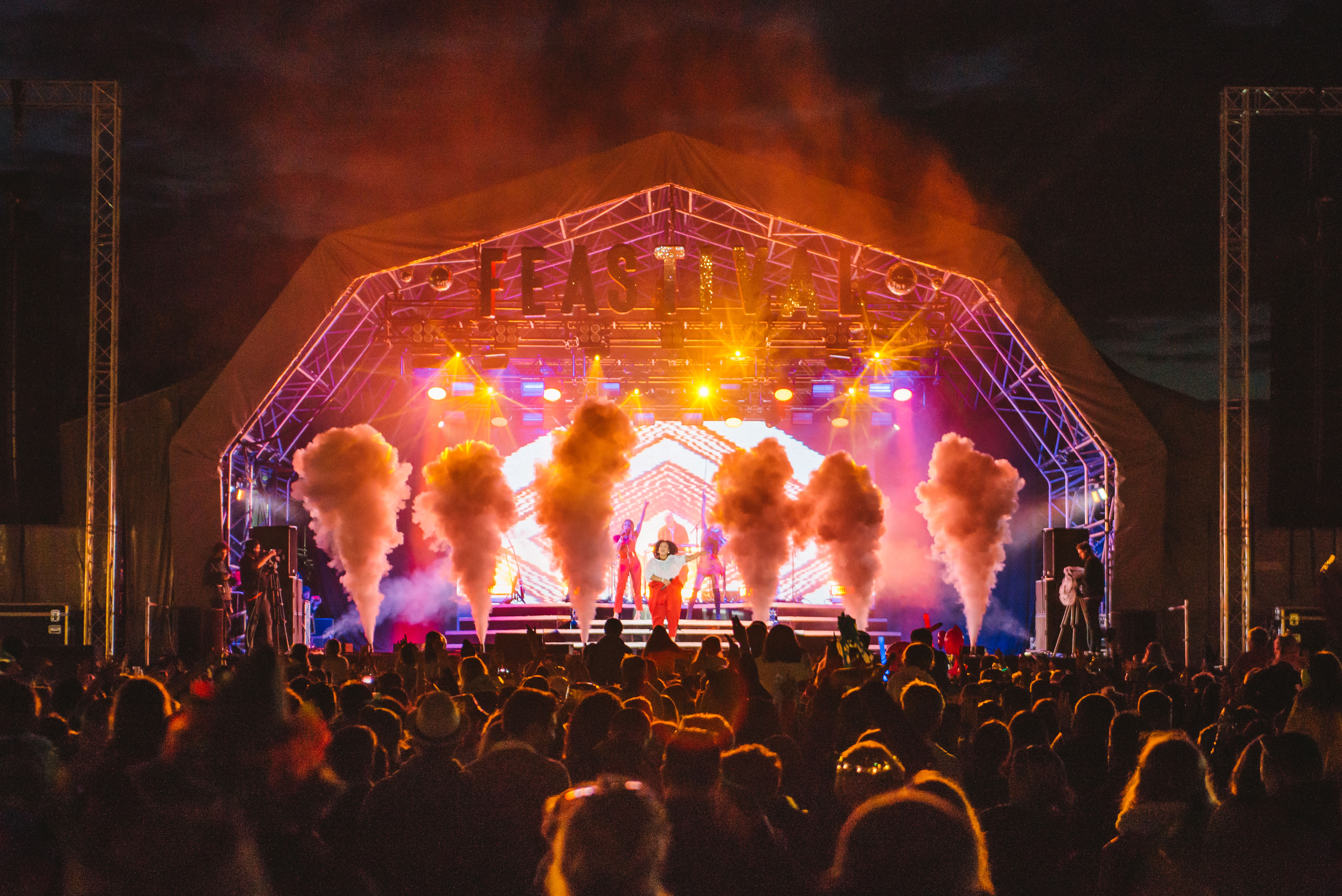 5:10pm: Day tickets to The Big Feastival