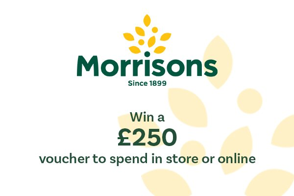 8:10am: £250 Morrisons voucher