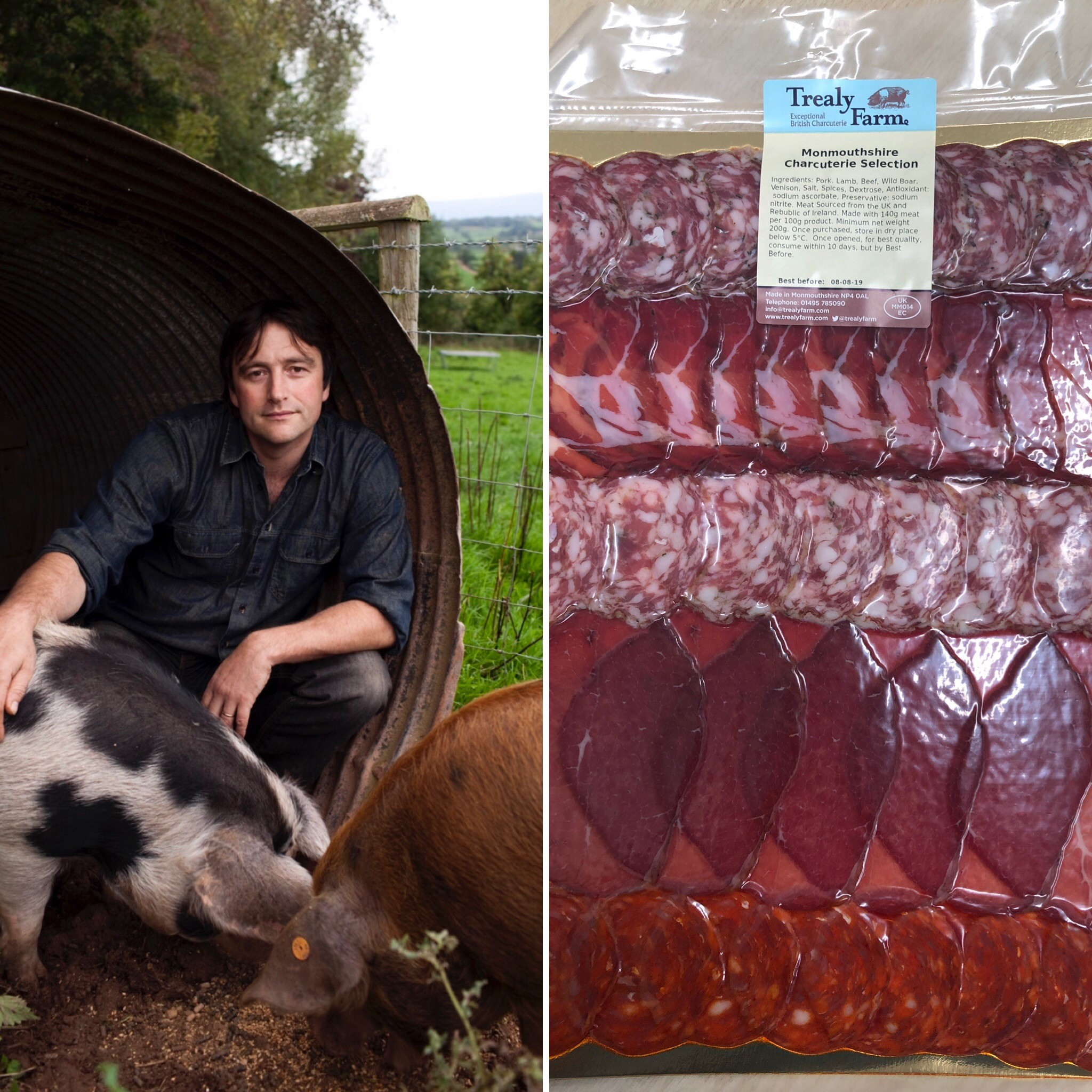 9:10pm: Trealy Farm handmade British charcuterie