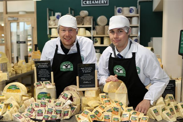 1:15pm: Family ticket to Yorkshire Wensleydale Cheese Experience and cheese