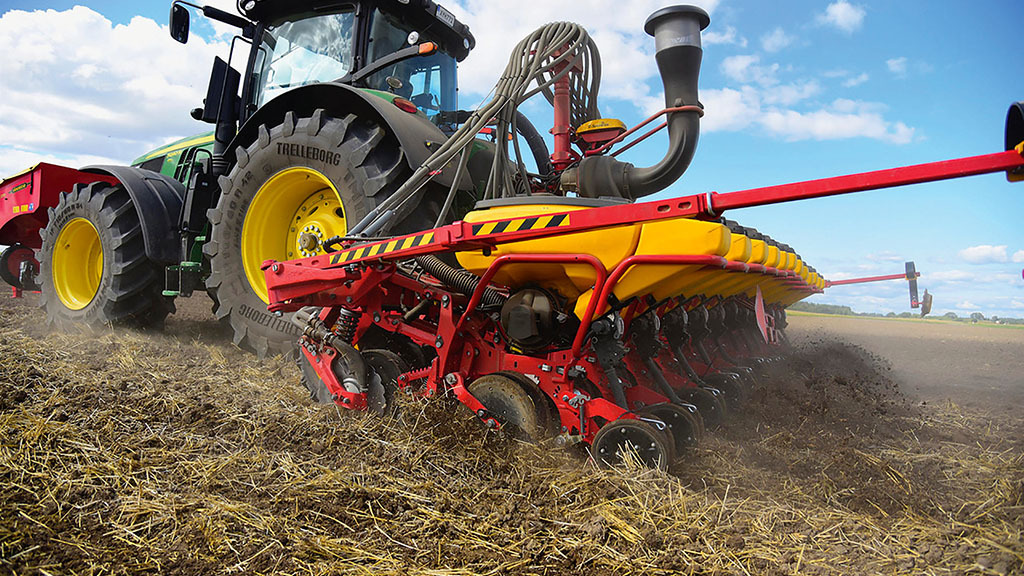 Why one Shropshire grower has turned to precision seeding for oilseed rape