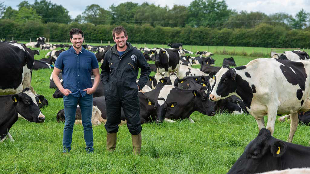 How one British farming family has grabbed its dairy destiny by the horns