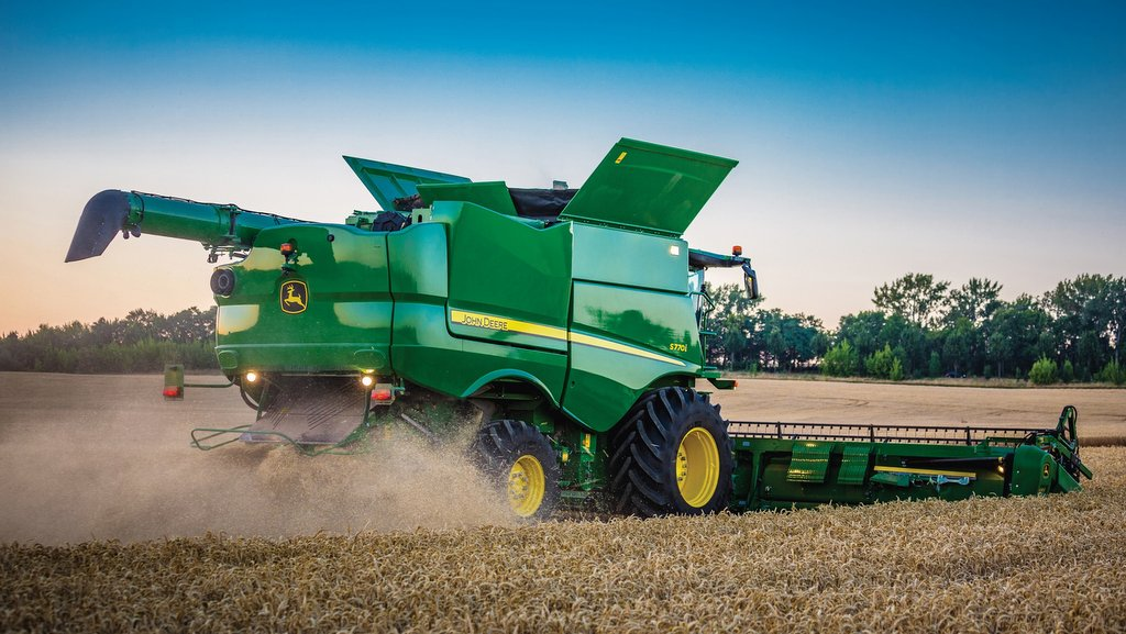 John Deere sales hit by 'high degree of global uncertainty' in agriculture