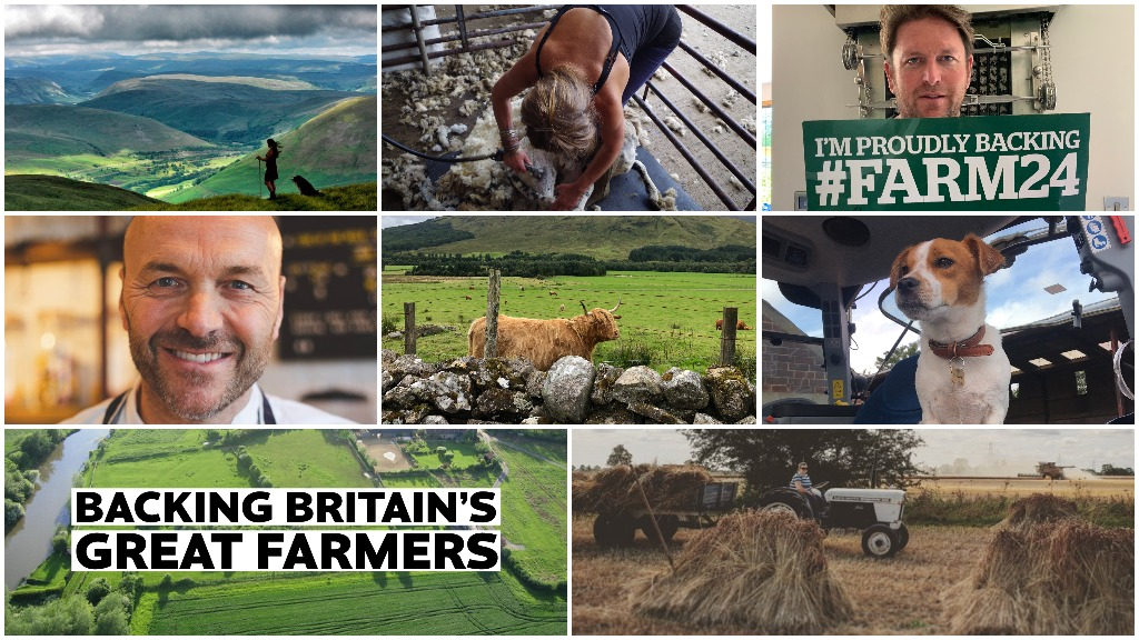 Thanks for your support: #Farm24 reaches millions more than ever before