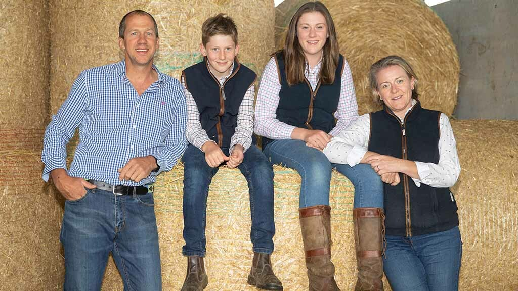 Beef and sheep farm concentrates on livestock productivity and diversification