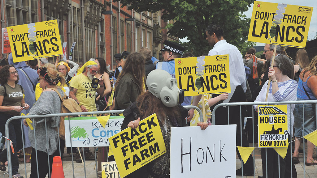 Dairy farmer speaks out as fracking furore flares up in Lancashire
