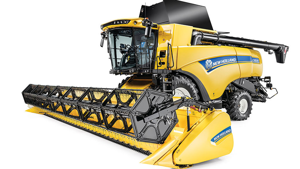Machinery news: New Holland updates its CX straw walker combines
