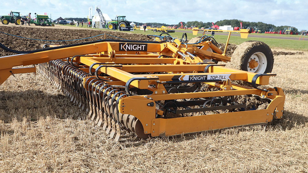 Knight Top-Till seed bed cultivator