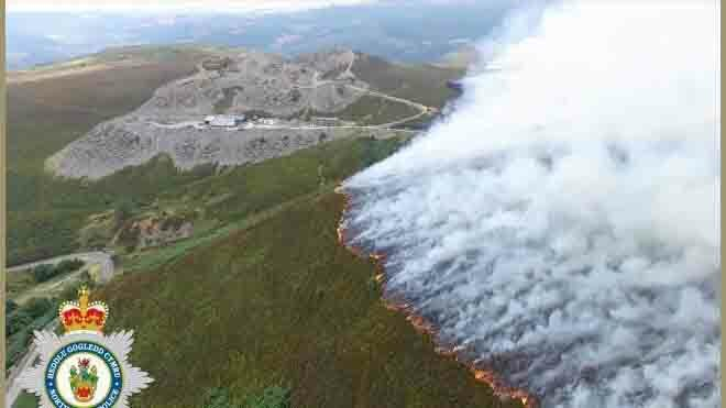 'Undergrazing on Llantysilio Mountain contributed to devastating wildfire'