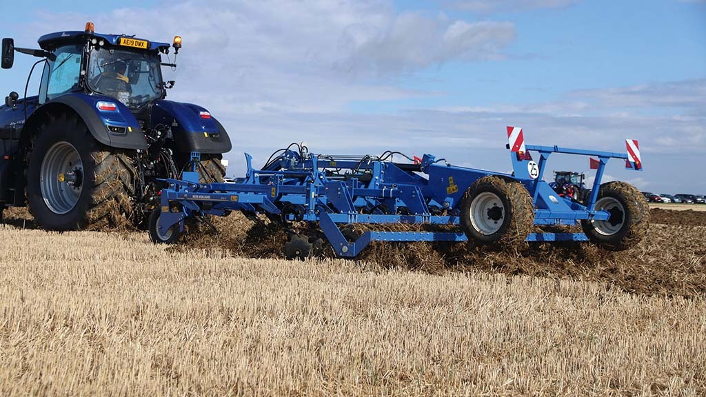 New Holland STXV stubble cultivator